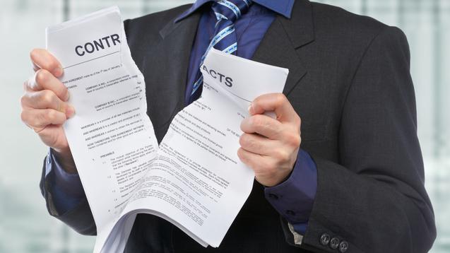 résiliation contrat
